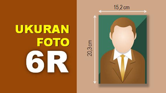 Ukuran Foto 6R