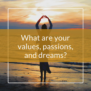 What are your values, passions, and dreams?