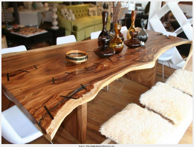 Wonderful Rustic Wood Dining Room Table HD