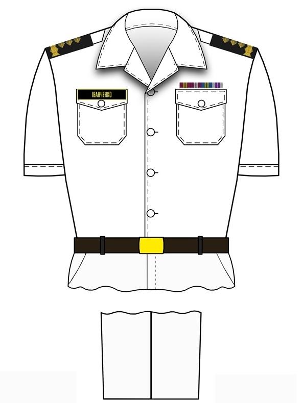 форма генералів ВМС