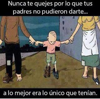 Pensamiento sobre los padres