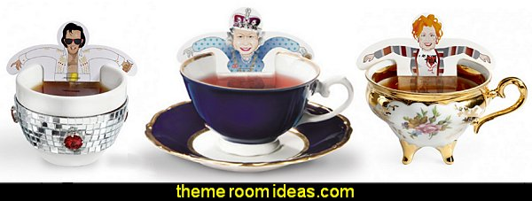 Donkey tea party tea bags  kitchen accessories - fun kitchen decor - decorative themed kitchen  - novelty mugs - kitchen wall decals - kitchen wall quotes - cool stuff to buy - kitchen cupboard contact paper -  kitchen storage ideas - unique kitchen gadgets - food pillows
