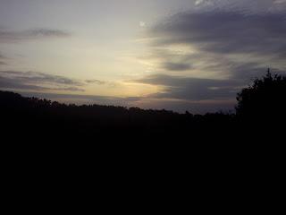 sunrise Kebun buah mangunan