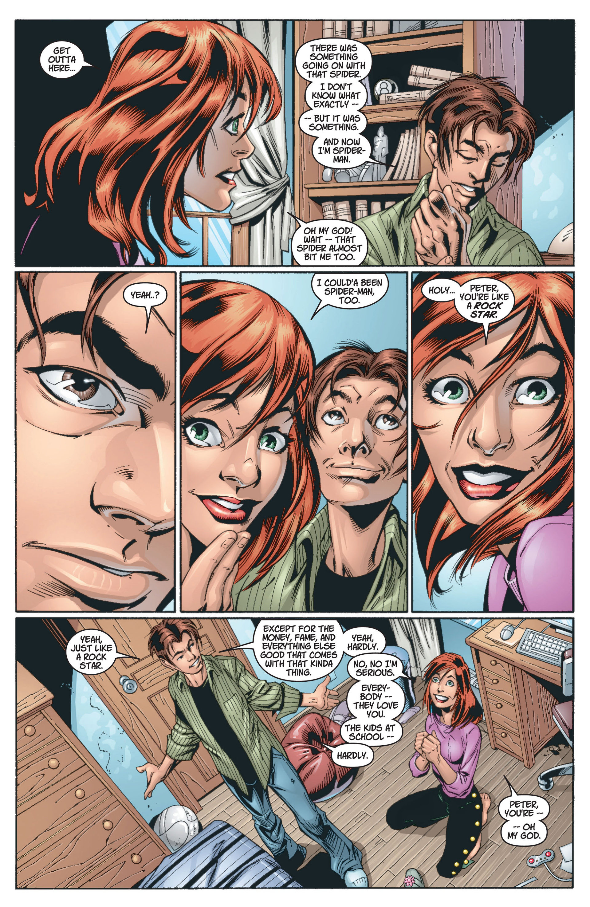Read online Ultimate Spider-Man (2000) comic -  Issue #13 - 13