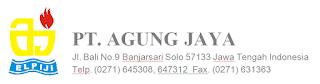 Lowongan Kerja Administrasi-Finance dan Penjualan & Customer Service di PT Agung Jaya - Surakarta