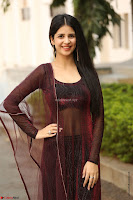 Kashish Vohra looks Beautiful Cute and Innocent beauty in Brown Transparent Velvet Gown ~  Exclusive 019.jpg