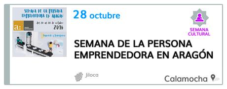 Semana de la Persona Emprendedora en Aragón