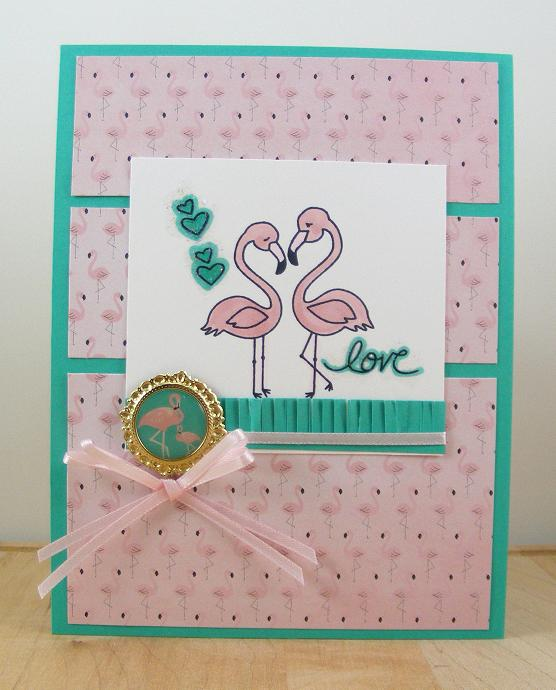 Love by Beverly features Flirty Flamingos by Newton's Nook Designs; #newtonsnook