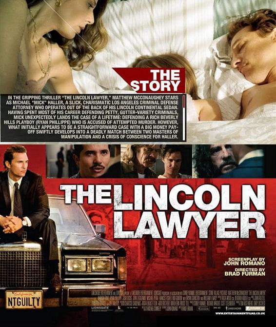 فیلم دوبله : وکیل لینکلن 2011 The Lincoln Lawyer