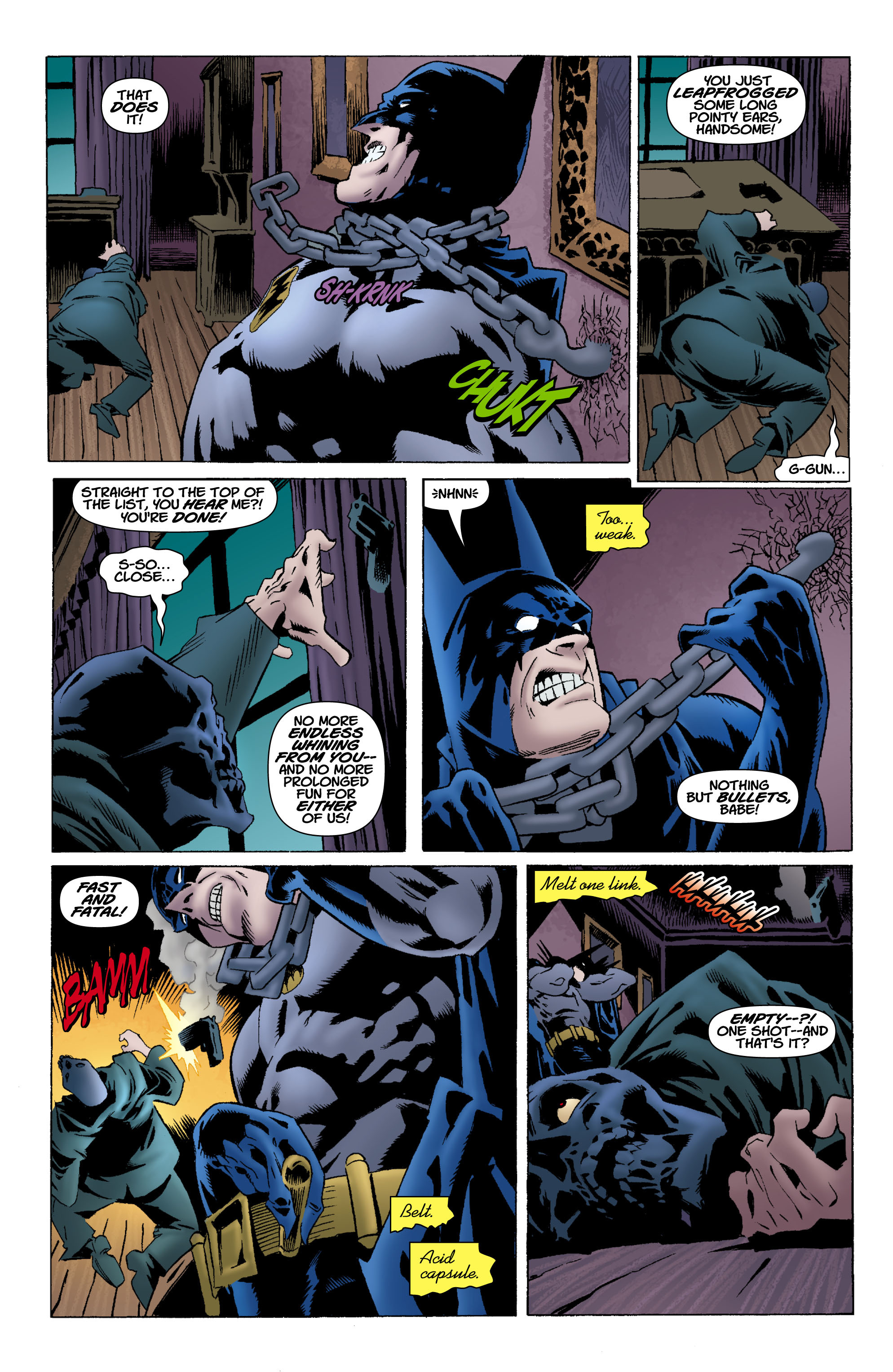 Read online Batman: Unseen comic -  Issue #4 - 12