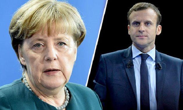 Τα δύο βόδια μαριονέτες που έχουν βάλει για πρωθυπουργούς θα συναντηθούν στο Παρίσι δήθεν για να συζητήσουν το μέλλον της Ευρώπης