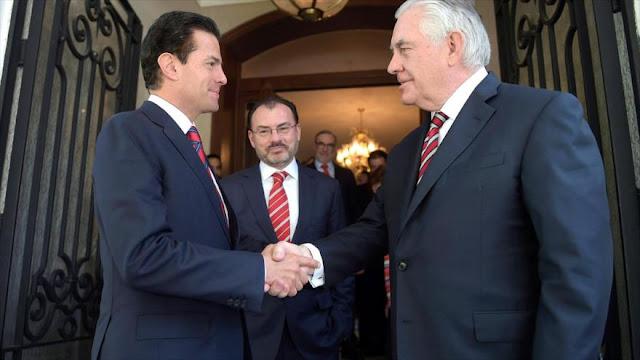 """Declaran en Mexico """"persona non grata"""" a Tillerson"""