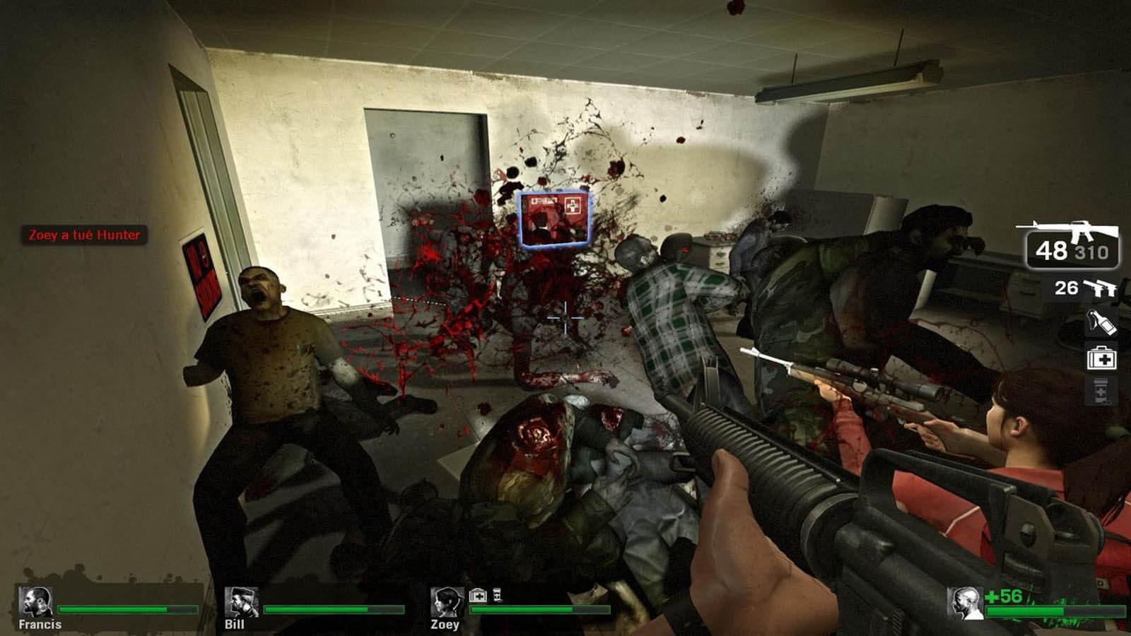 تحميل لعبة 1 Left 4 Dead مضغوطة برابط واحد مباشر كاملة مجانا