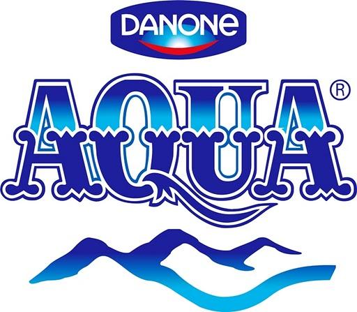 venesia makna logo aqua