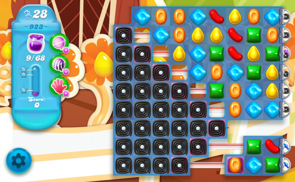 Candy Crush Soda Saga 923