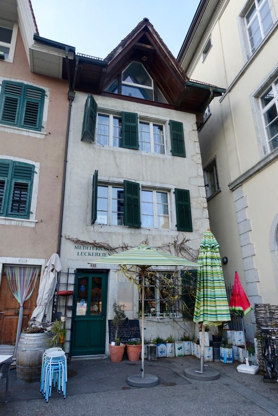 Swiss Traveler: Review of Restaurant Mediterrane Leckereien ...