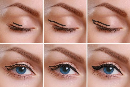 How to apply pencil eyeliner step by step pictures   Nail ...