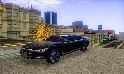 BMW 7 2015 GTA San Andreas