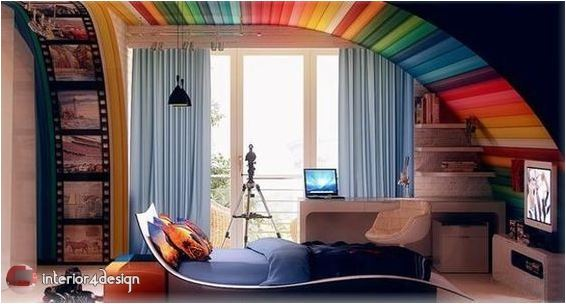 Colorful Teenagers Bedrooms 13