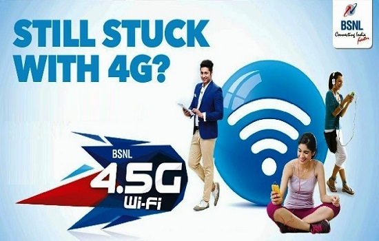 BSNL to offer 200% Extra validity for Prepaid WiFi plans from 11th March 2016 on wards across all telecom circles