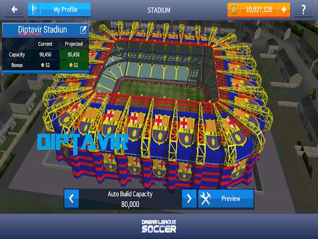Cara Modifikasi Stadiun Dream League Soccer 2017 Agar Tampil Keren