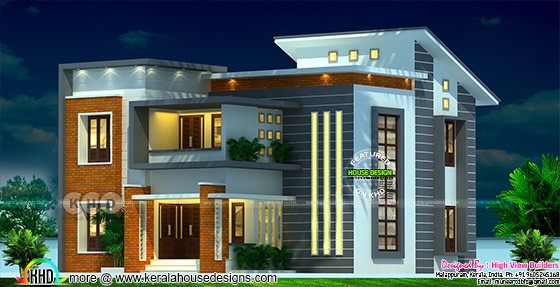 Villa type A rendering