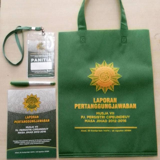 Pesanan Paket Seminar kit dari PERSIS Jawa Barat