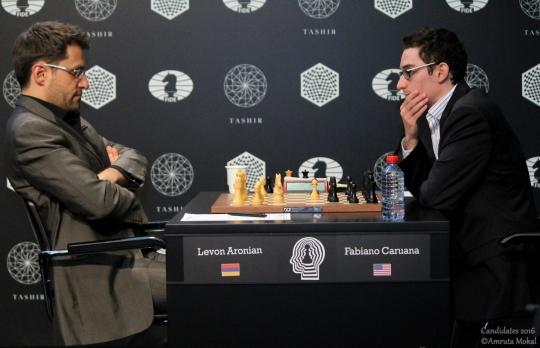 Aronian et Karjakin annulent à la ronde 5 - Photo © Amruta Mokal
