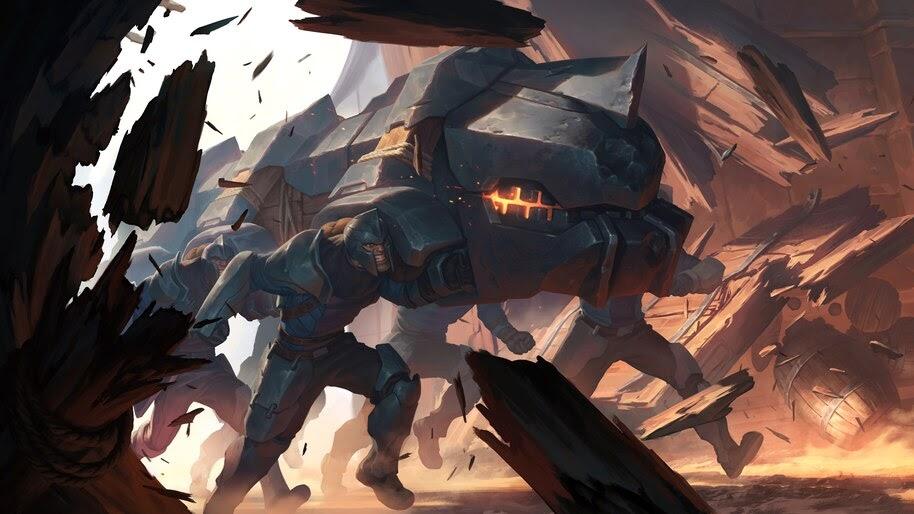 Legends of Runeterra, Battering Ram, 4K, #4.1495