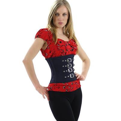 9fab819a08 Corset 101 Video Blog  How To Lace Yourself Into a Corset