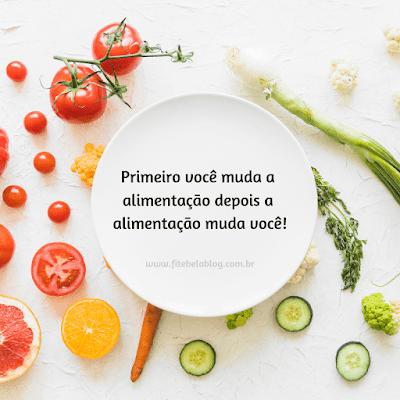 alimentção saudável