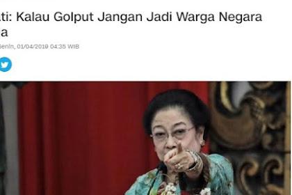 Sekarang Mengkritik, Padahal Dulu Megawati Pernah Menyerukan Golput