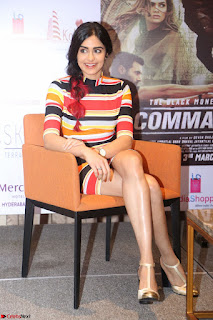 Adha Sharma in a Cute Colorful Jumpsuit Styled By Manasi Aggarwal Promoting movie Commando 2 (149).JPG