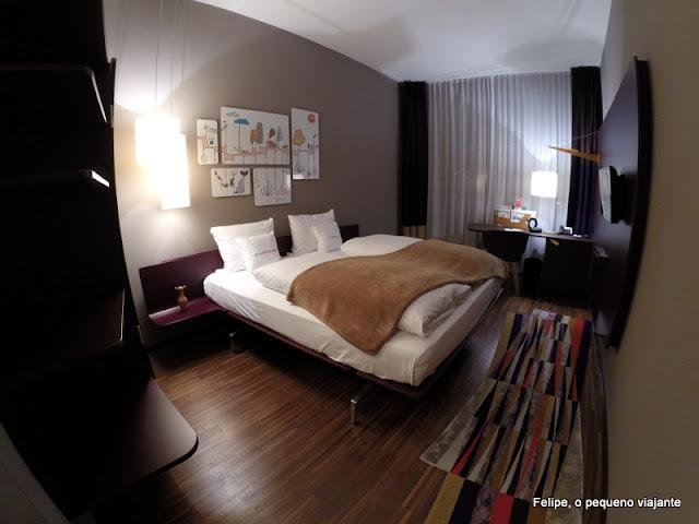 25hours Hotel Zürich West, em Zurique - dica de hotel boutique na Suíça