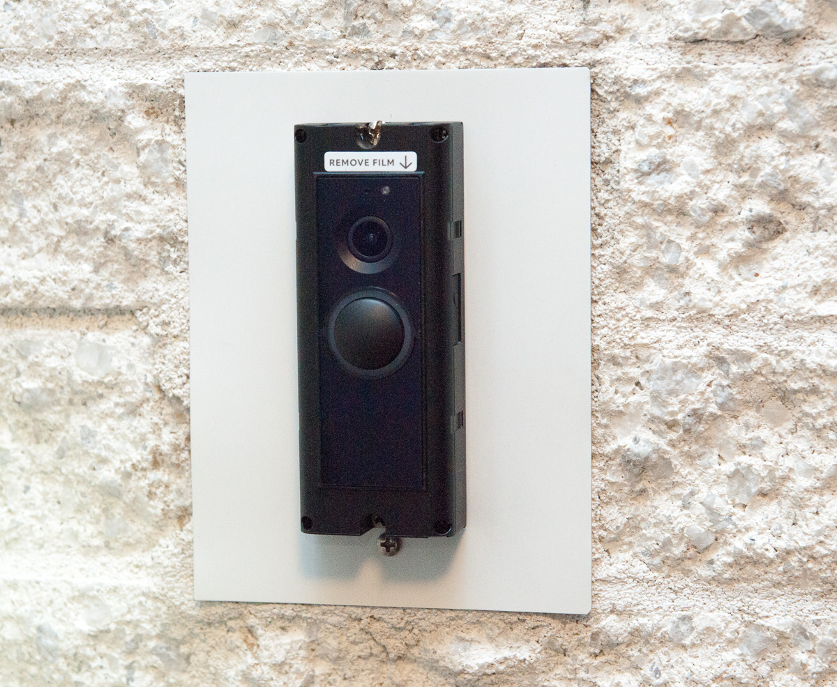 The Ring Pro Video Doorbell Installed. Now Itu0027s Time To Reconnect The Power.
