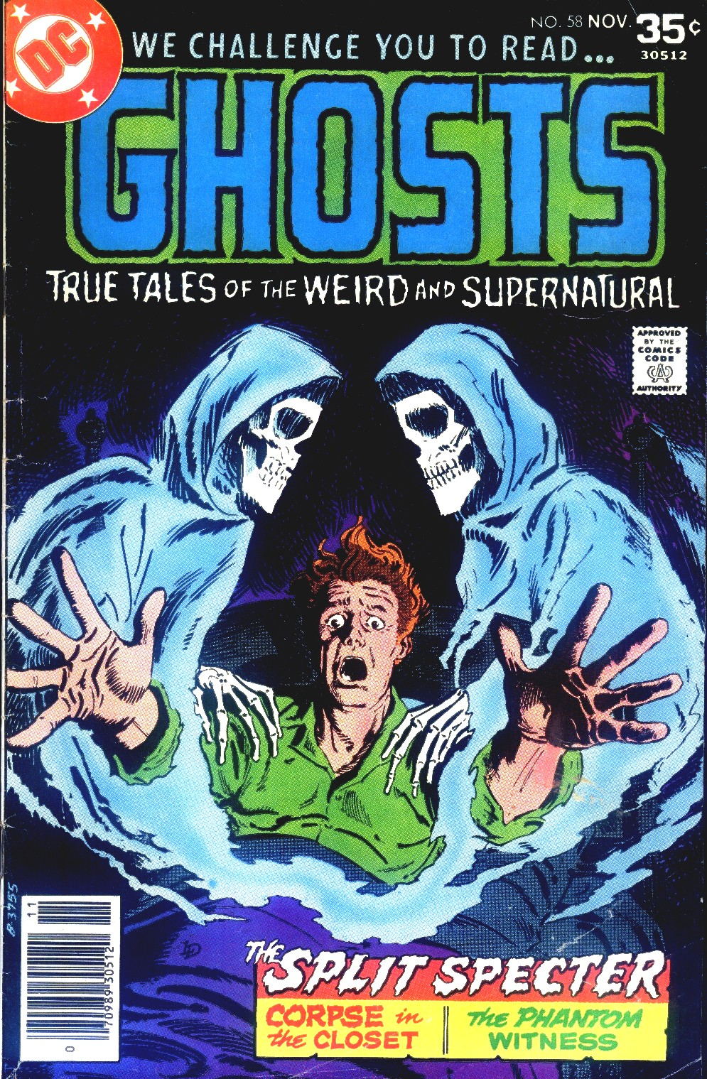 Read online Ghosts comic -  Issue #58 - 1