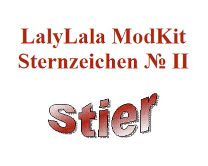 h kelfieber lalylala sternzeichen modkits. Black Bedroom Furniture Sets. Home Design Ideas