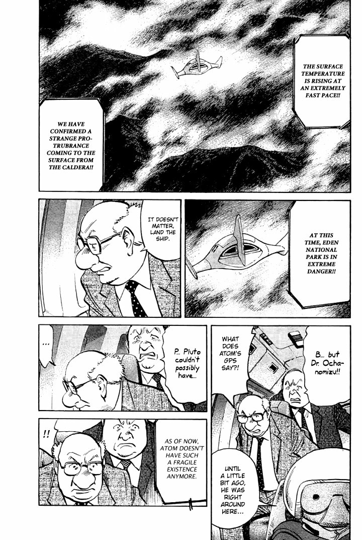 Page 5, Act 64: Sound of the End from Naoki Urasawa's Pluto Volume 8