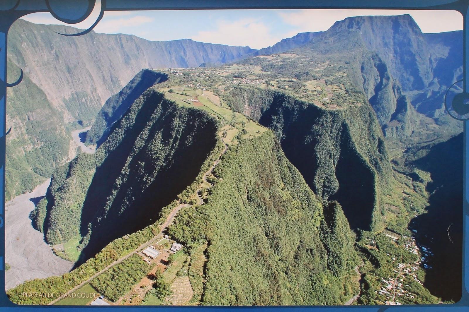 réunion île gotoreunion labyrinthe en champ thé tea grand coude visite à faire jumbocar irt tourisme 974 vue panorama montagne route