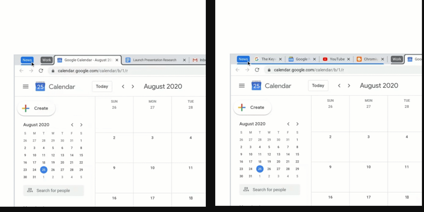 Google is bringing new productivity tools for tab grouping