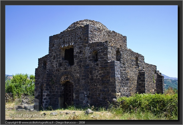 cuba bizantina di Castiglione di Sicilia