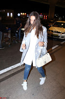 Neha Dhupia in Shirt Denim Spotted at Airport IMG 3516.JPG
