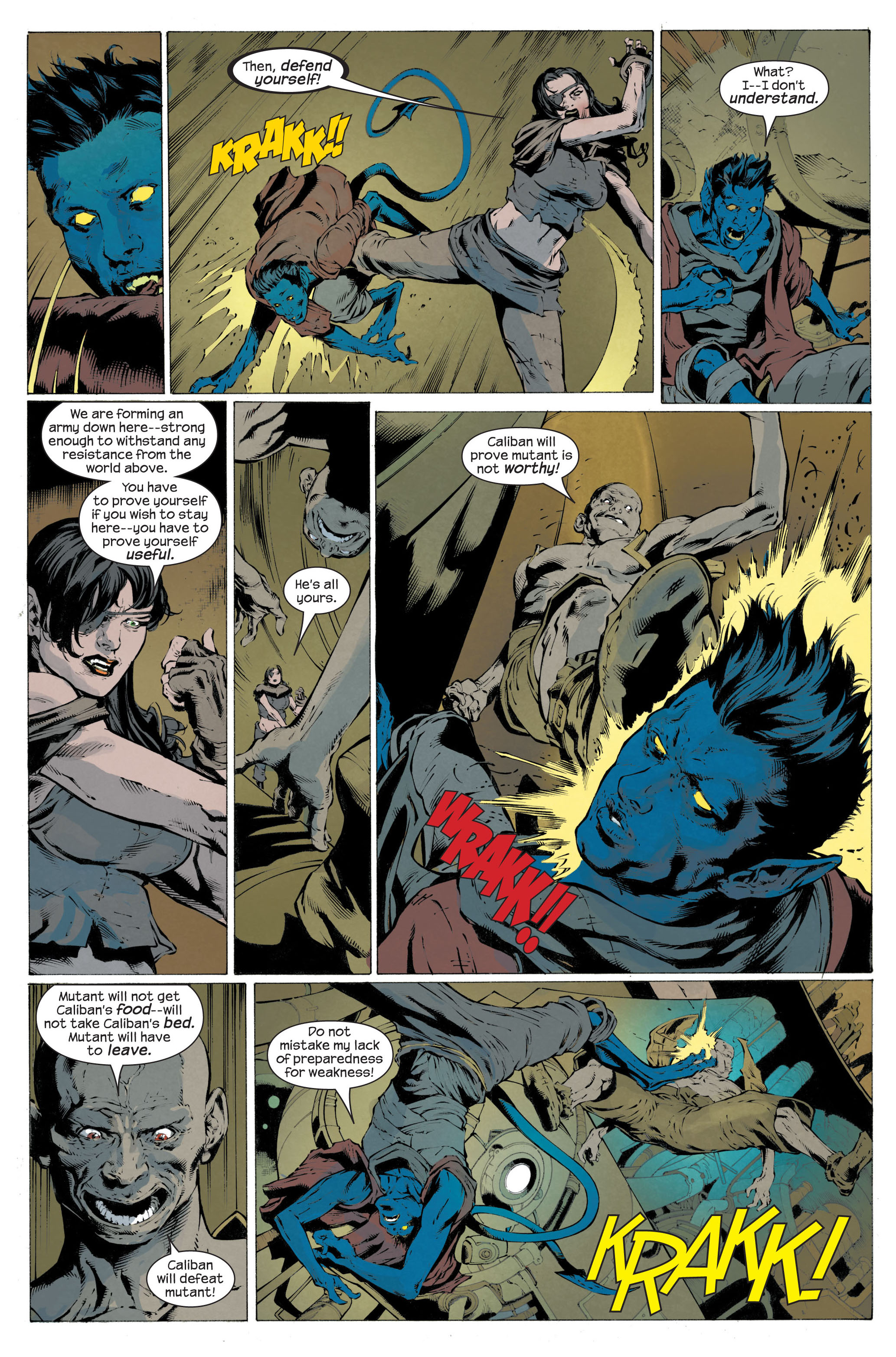 Read online Ultimate X-Men comic -  Issue #82 - 4