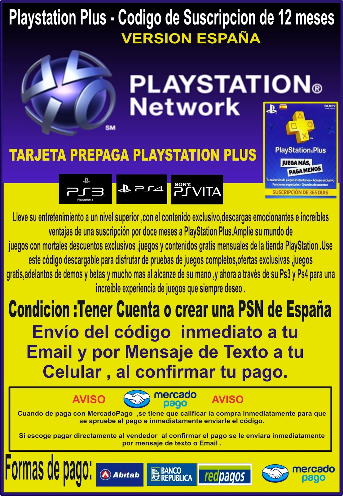 Playstation Plus 12 Meses Playstation Plus 12 Meses
