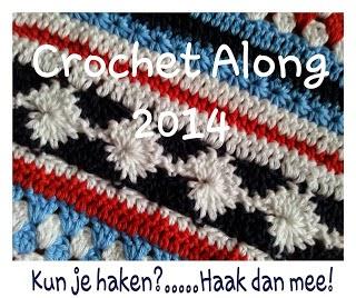 Verwonderlijk Knutsels van Jolanda: Crochet Along rand 1 XH-07