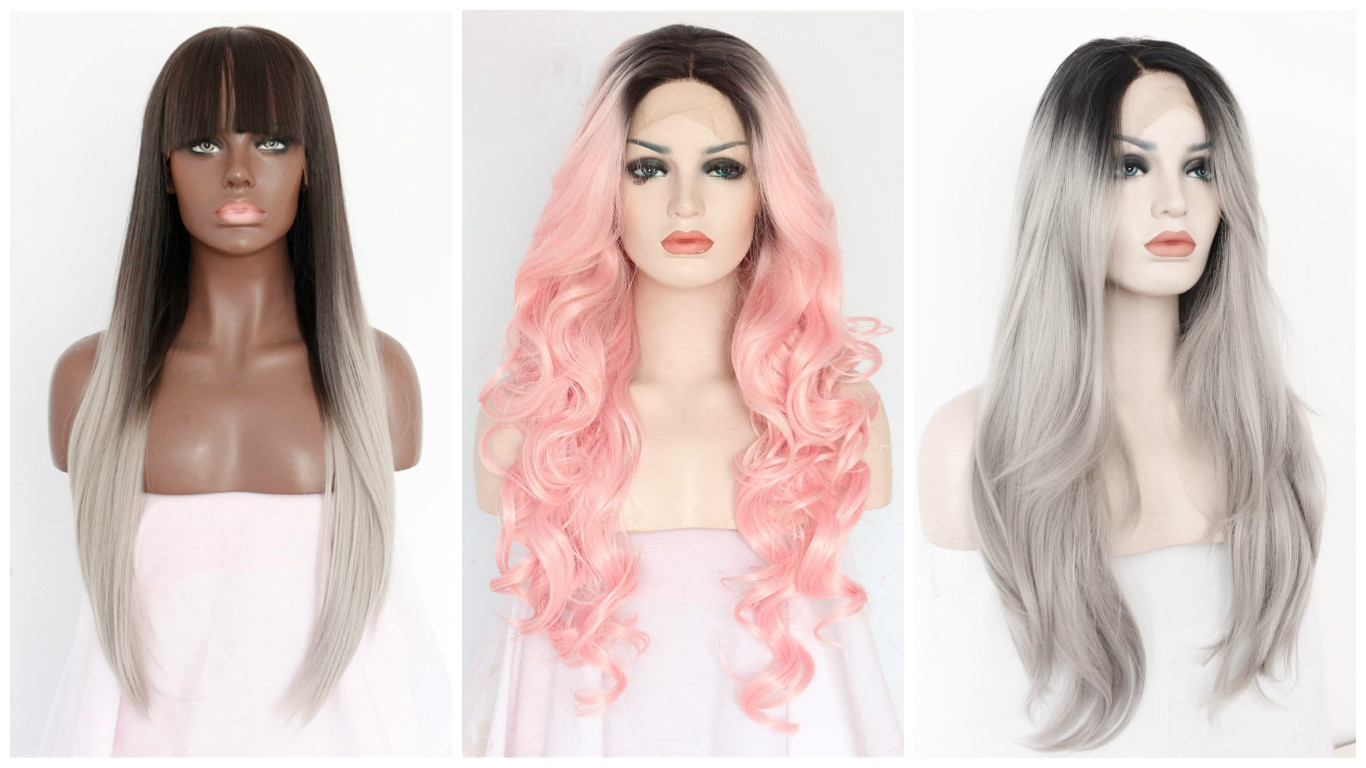 Selection of wigs