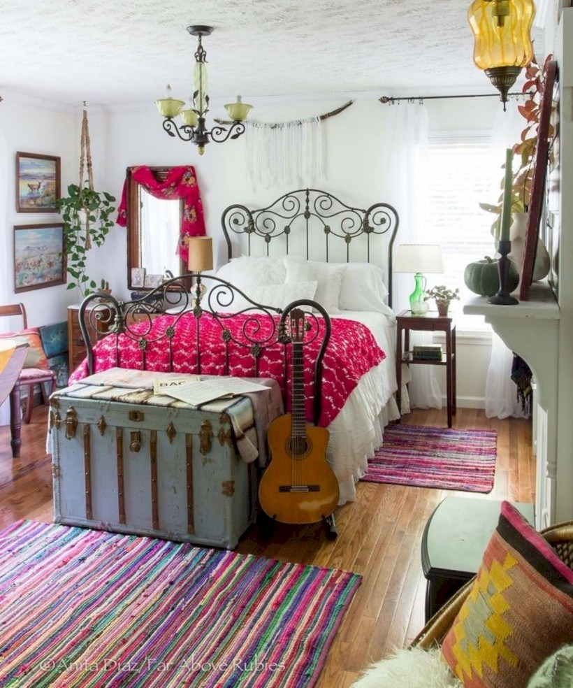Cheap One Bedroom Apt: 35 Super Cheap Bohemian Bedroom Ideas You Must Try