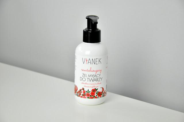 rewitalizujący żel do mycia twarzy vianek
