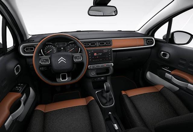 Novo Citroen C3 2017 - interior - painel