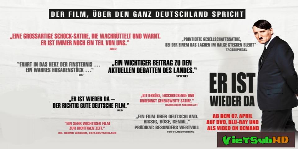 Phim Hitler trở về VietSub HD | Look Who's Back / Er ist wieder da 2015
